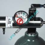 LSP Economy oxygen regulator 0-25 LPM barbed-0