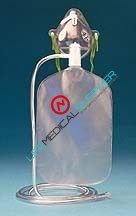 Partial Non-Rebreathing mask B & F Adult use-0