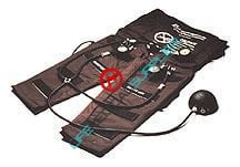 Trauma Air pants pediatric w/ 3 gauges-0