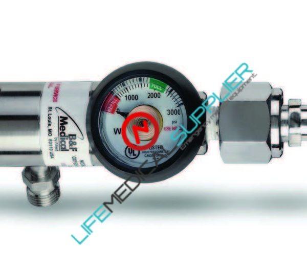 B & F Oxygen regulator 0-15 LPM diss outlet Model 23003-0