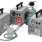 Portable aspirator Gomco model 1180/1181-0