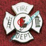 Uniform Pin fire Department Cross Ref: 001-X348-0