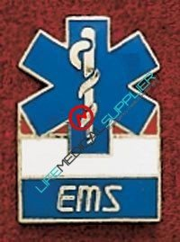 Uniform pin Emergency Medical Services Ref: 001-X357-0