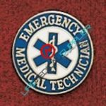 Emergency Medical Technician with Star of Life Ref:001-X419-0