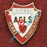 Uniform Pin Certified ACLS Ref: 001-X512-0