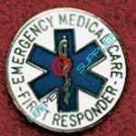 Uniform pin First responder with star of Life Ref: 001-X525-0