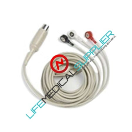ECG cable 3 leads for Zoll M Series-0