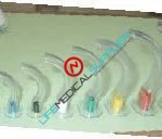 Color Coded PVC Guedel Airway 40 mm 10/box-0