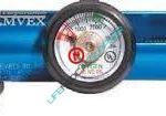 Oxygen regulator 0-15 lpm hose barb-0