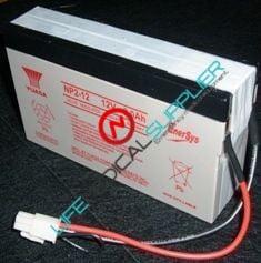 Battery for Burdick Medic-5 Defib/Monitor 24v, 2ah-0