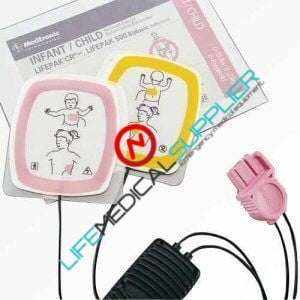 LIFEPAK Infant/Child Reduced Energy pads Starter Kit-0