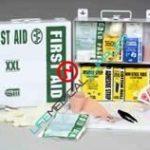 Stocked First Aid Kit XXL-50 metal / General Purpose-0