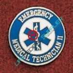 Uniform EMT II pin with star of Life Ref: 000-X388-0