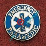 Uniform Pin Paramedic w/Star of Life Ref: 000-X422-0
