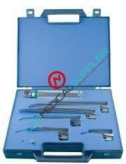Fiber Optic Laryngoscope G profile Miller Kit-0