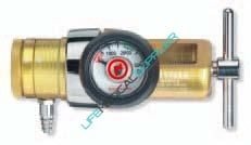 Compact Oxygen regulator 0-15 LPM barbed OPA820-0