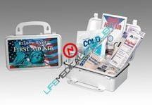 Ready basic First Aid Kit w/supplies-0