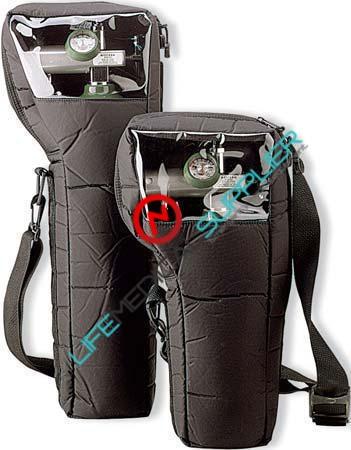 Black Nylon Bag for E Cylinder - Bag only-0
