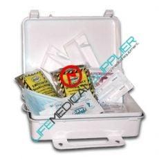One Person Pandemic Flu Kit w/Supplies-0