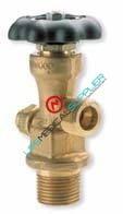 Spigot valve for aluminum cylinders CGA-540-0