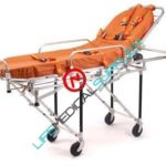 Stretcher Ferno 26 w/ 2 wheel locks-mattress and straps-0
