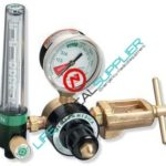Non-magnetic OXYGEN regulator with flowmeter 15 lpm-0