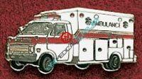 Uniform Pin ambulance Ref: 000-X520-0
