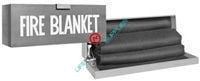 Fire blanket kit with steel cabinet-0