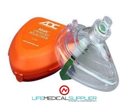 ADC Adsafe™ CPR Pocket Resuscitator in hard case-0