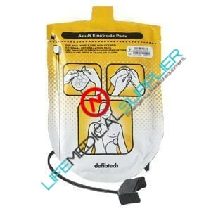 DefibTech Adult defibrillation pad package-0