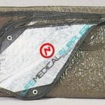 Rothco Aluminized casualty blanket 9069 Olive drab color-0
