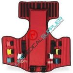 Rescue vest red w/carrying case-0