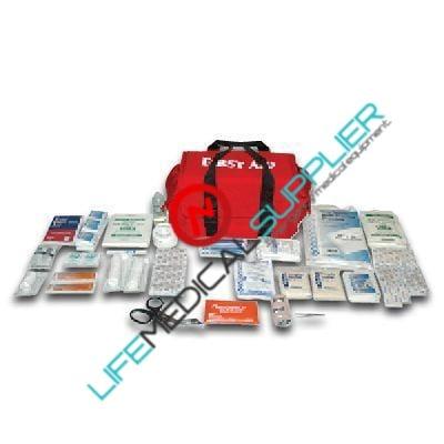 First Aid Responder Kit w/supplies-0