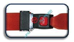 Nylon straps Metal Push Button Buckle /Swivel Speed Clip-0