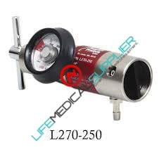 LSP Oxygen regulator all brass 0-25 lpm barb-0