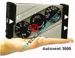 AutoVent ™ 3000 Automatic Ventilator portable system w/regulator,soft case-0