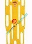 LSP Stabilizer Backboard w/pines Yellow 500Lbs-0