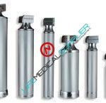 Stainless Steel Mini handle for laryngoscope Fiber optic-0