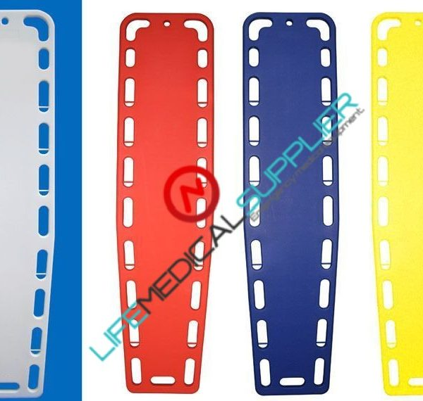 """AB SPINEBOARD 10-993 8 pins 18""""inches wide Red Blue-Orange-0"""