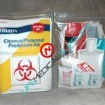 Cleanup/Personal Protection Kit w/Supplies-0