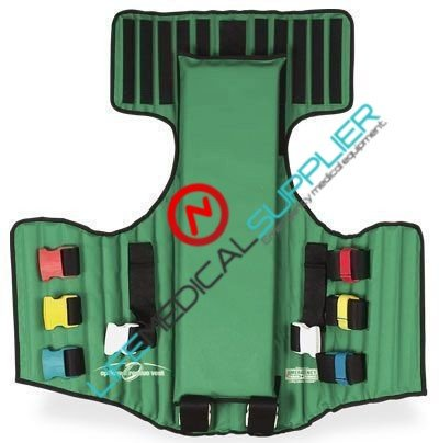 O.R.V. rescue VEST GREEN w/carrying case-0