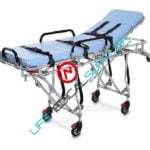 One man ambulance cot MWB39 w/mattress and straps-0