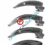 "FO laryngoscope blade MAC ""G"" Profile # 1-0"