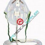 B & F Simple Oxygen Mask, pediatric, 7' tubing, 64092-0