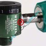 Western Medica Quick-Click™ O2 Flowmeter 0-25lpm Chemetron QC-0