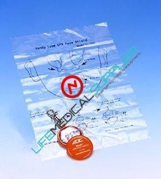 ADSAFE™ CPR FACE SHIELD 4055 Orange-0