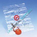 CPR Face Shield w/Key Chain Orange-0