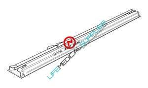 "Ferno StatTrac™ Cot Fastening System 96"" 185 MT-0"