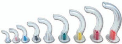 Clear PVC Guedel airway 50/box infant-0