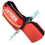 Oxygen D Cylinder Bag W/Padded Head 250 OR-P-0